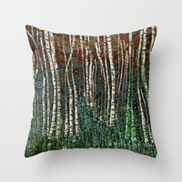 :: Wild In The Woods :: Throw Pillow