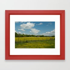 Country Time Framed Art Print