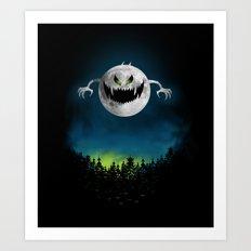 Moonster Art Print