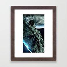 Milleniuim Falcon Framed Art Print