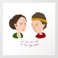 Juno & Paulie Art Print
