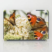 Peacock Butterfly With P… iPad Case
