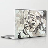 Laptop & iPad Skin featuring Made of two by Jane-Beata