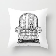 Big Chair Throw Pillow