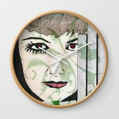 Took My Hands Off of Your Eyes Too Soon Wall Clock