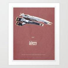 Mass Effect Art Print
