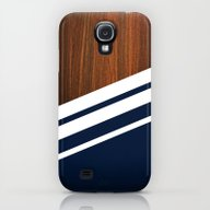 Wooden Navy Galaxy S4 Slim Case
