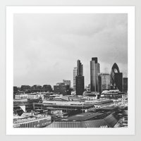 Skytop Art Print