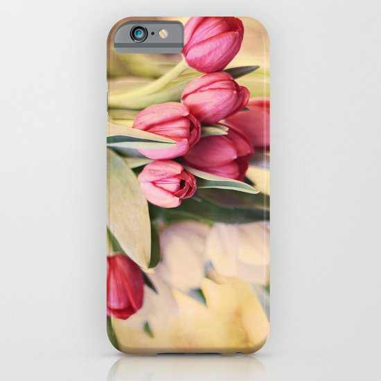 Vintage Tulips iPhone & iPod Case