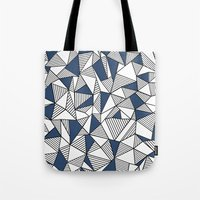 Abstraction Lines With N… Tote Bag