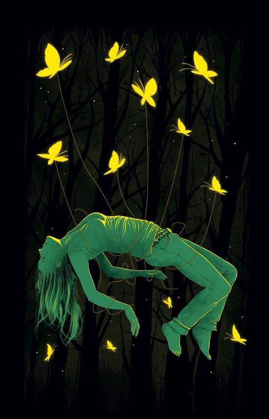 In Deep Sleep Canvas Print