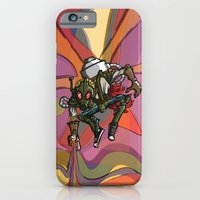 iPhone & iPod Case featuring Brushmask by Dangerous Monkey