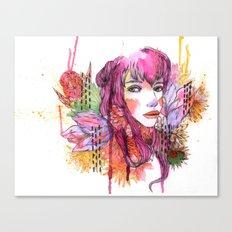 Blushing in Spring Canvas Print