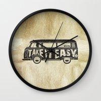 Take It Easy - Tribute Wall Clock