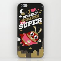 I'm super iPhone & iPod Skin