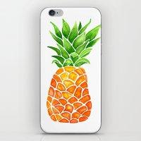 Pineapple iPhone & iPod Skin