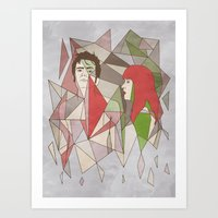 Some Doctor Who I Used T… Art Print