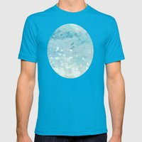 Ocean Palette Mens Fitted Tee Teal SMALL