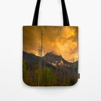 Kootenay Wildfires Tote Bag