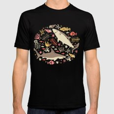 Oceanica SMALL Black Mens Fitted Tee