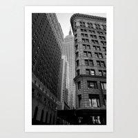 New York Building-1 Art Print