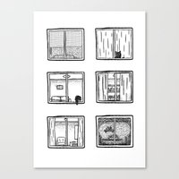 Every Window Is A Story Canvas Print