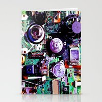 Electron Hotel Stationery Cards