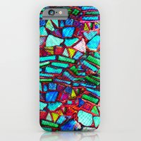 Colorful Abstract Waves iPhone 6 Slim Case