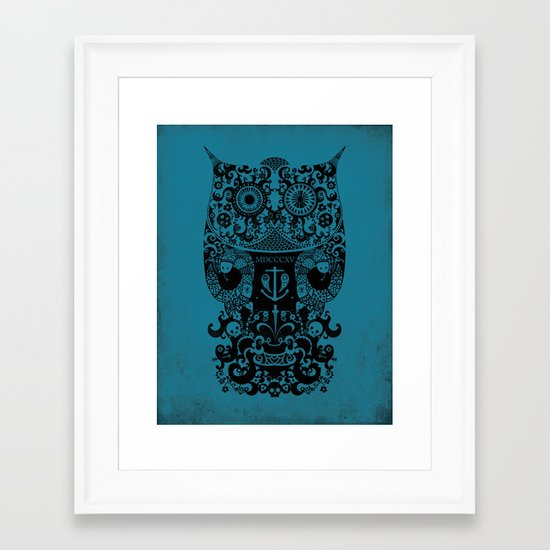The Old Owl No.2 Framed Art Print
