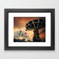 Carnival Clouds Framed Art Print