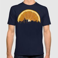 Succo Di Sole Mens Fitted Tee Navy SMALL