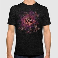 Cosmic Butterfly Mens Fitted Tee Tri-Black SMALL