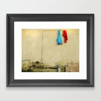 They Woke Up And One Of … Framed Art Print