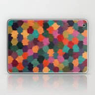Abstract Colors In Pink,… Laptop & iPad Skin