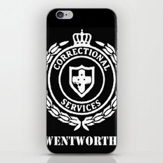 WENTWORTH CORRECTIONAL SERVICES iPhone & iPod Skin