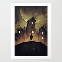 A Bad Dream Art Print