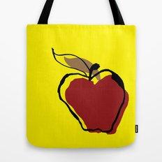 Apple for Teacher Tote Bag