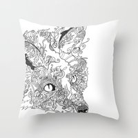 Her Complicated Nature I Throw Pillow