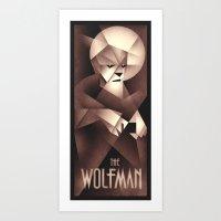 The Wolfman Art Print