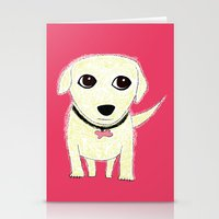 Bichon Bolognese dog Stationery Cards