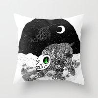 Behemoth Throw Pillow