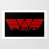 Weyland-Yutani Corp Art Print