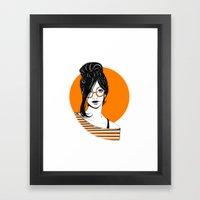 GIRL 01 Framed Art Print
