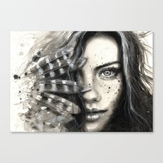 Freckly Canvas Print