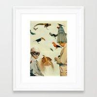 Ornithology Framed Art Print