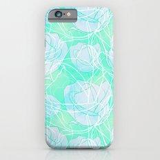Blue roses Slim Case iPhone 6s