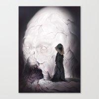 Death Claims the Godhead Canvas Print