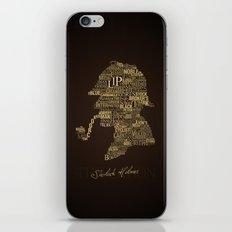 Sherlock Holmes The Canon iPhone & iPod Skin