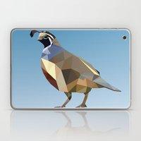 Geometric Quail Laptop & iPad Skin