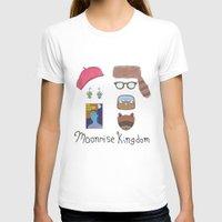 moonrise kingdom T-shirts featuring Moonrise Kingdom by HeatherHattrick